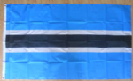 Botswana Large Country Flag - 3' x 2'.